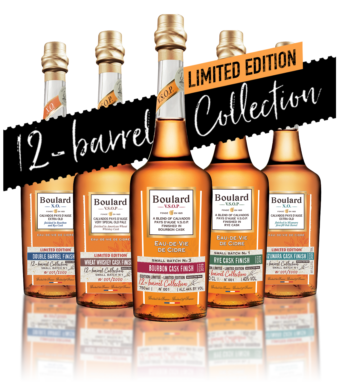 12 Barrel Collection Boulard Calvados