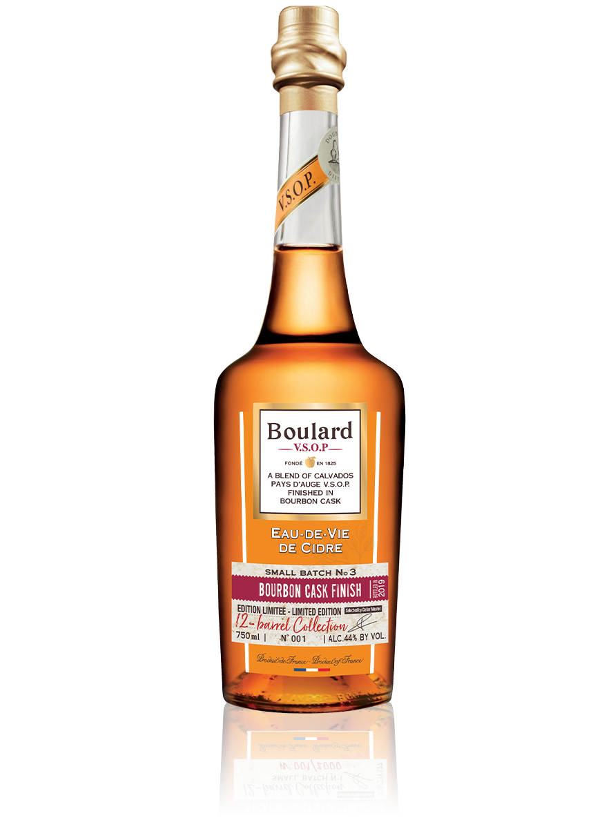 Vsop Bourbon Cask Finish Boulard Calvados Pays Auge