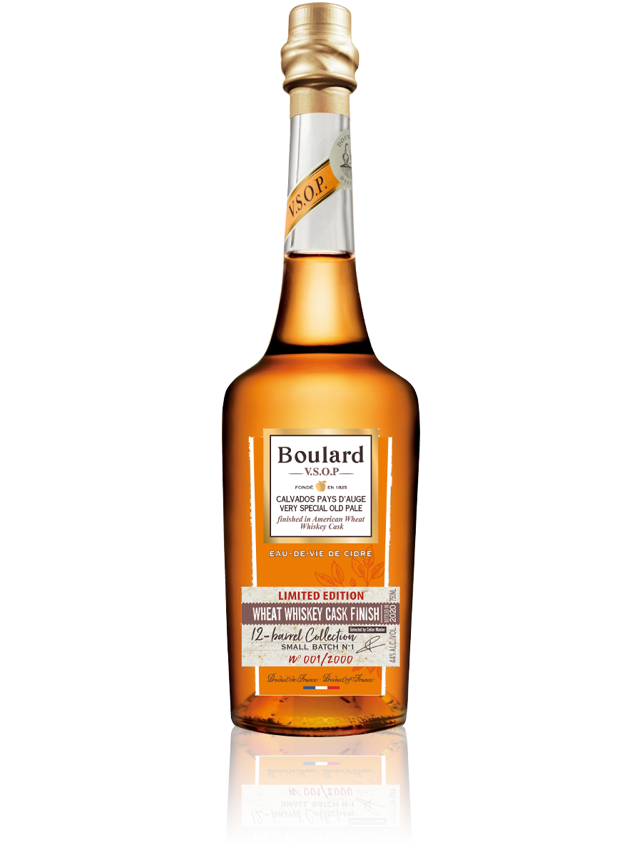 Vsop Wheat Whiskey Cask Finish Boulard Calvados Pays Auge